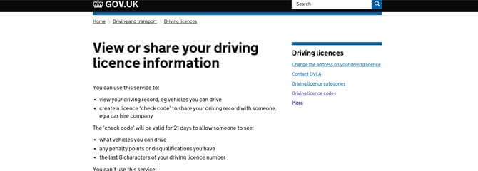 Dvla Extends Driving Licence Access Period To 21 Days Clm