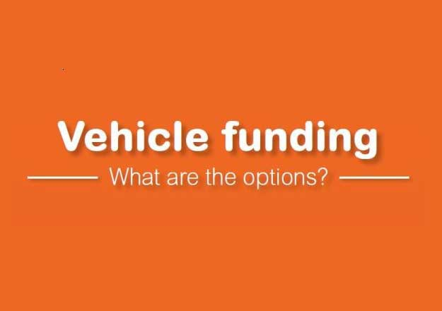 vehicle funding options