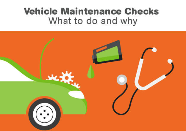 Road Safety Vehicle Maintenance Checks Infographic