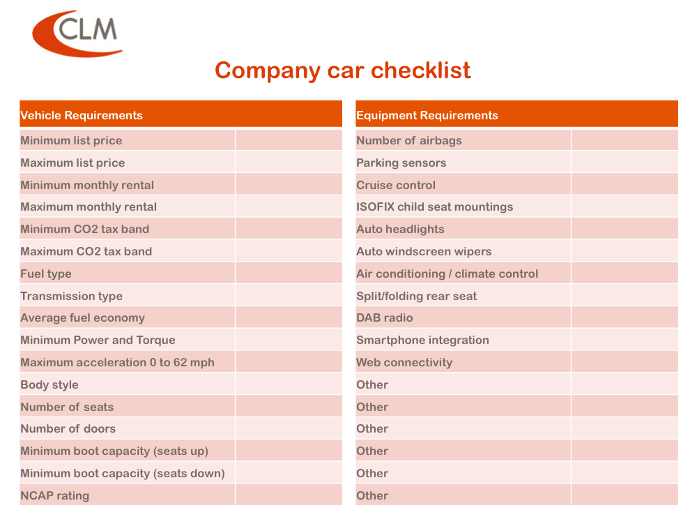 Company Car Tax Guide