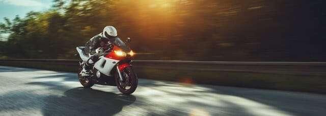 Road safety week motorcycle