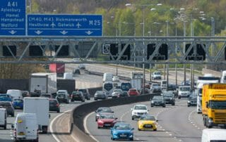 smart motorway m25 speeding limits