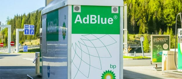 AdBlue mistakes. Image of a BP station