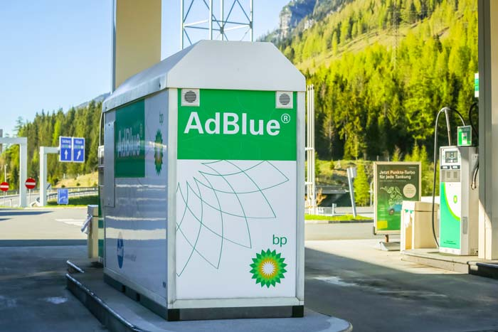 AdBlue BP station