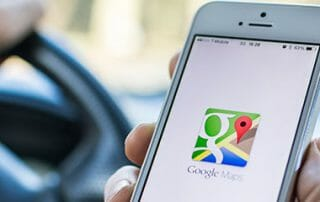 google maps ev information
