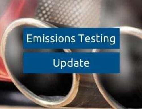 WLTP / RDE Emissions Testing Update
