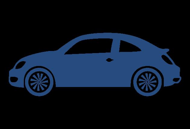 Medium Car Blue