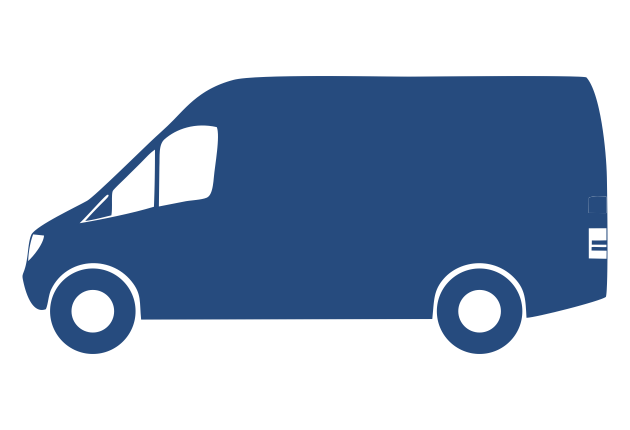 Van blue
