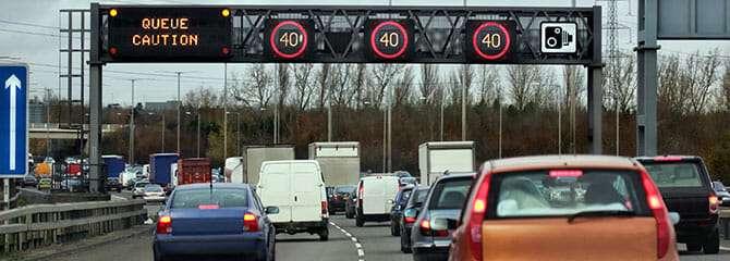 dynamic smart motorway