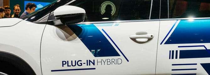 plug-in hybrid alternative fuel vehicle