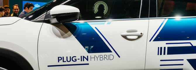 plug-in hybrid alternative fuel vehicle