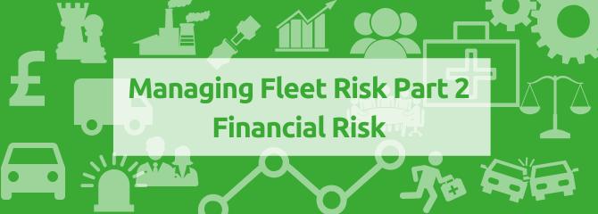 Financial risk banner